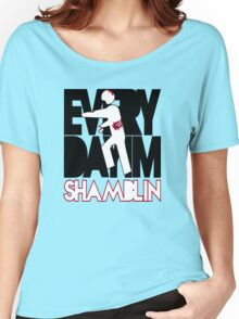Everyday I'm Shamblin' (reverse) Women's Relaxed Fit T-Shirt