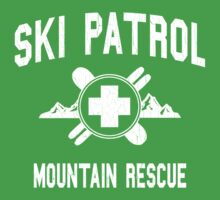 Ski Patrol & Mountain Rescue (vintage look) One Piece - Short Sleeve