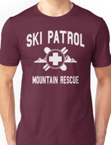 Ski Patrol & Mountain Rescue (vintage look) Unisex T-Shirt