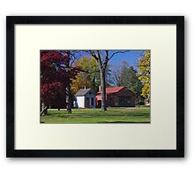 Landis Valley Millstone Grove 2 Framed Print