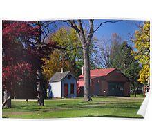 Landis Valley Millstone Grove 2 Poster