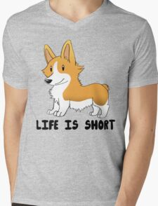 Life Is Short Mens V-Neck T-Shirt