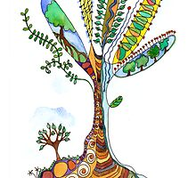 Tree of Life 9 by wiccked