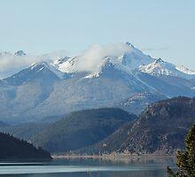 Mountains near Gold Bridge BC by KansasA