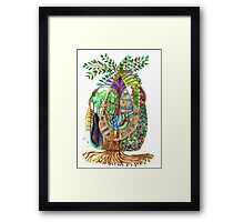 The Secret Life of Trees Framed Print