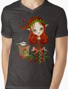 Jollybelle Elf Mens V-Neck T-Shirt