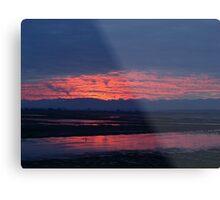 Sunset in Washington Metal Print