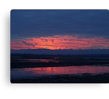 Sunset in Washington Canvas Print