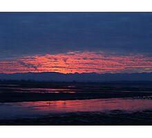 Sunset in Washington Photographic Print