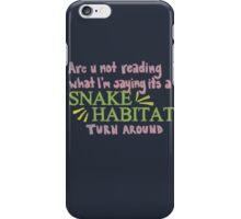 Snake Habitat iPhone Case/Skin