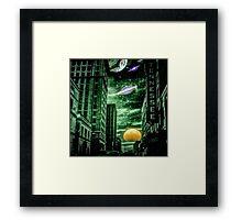 Alien Skies Framed Print