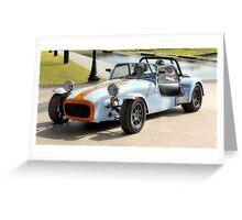 Lotus Super 7 Racing Car Greeting Card