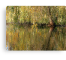 Weeping Reflection Canvas Print