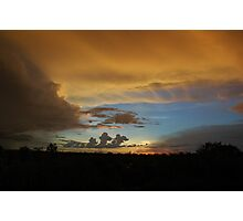 Wet Season Clouds  Photographic Print