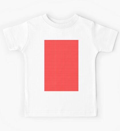 Polka Dots (red) Kids Tee