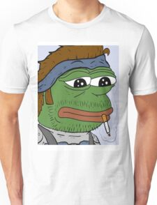 Pepe smoke frog  Unisex T-Shirt