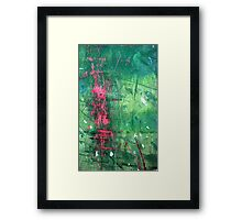 The Pink Elusion Framed Print