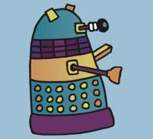 Dalek 01 One Piece - Short Sleeve