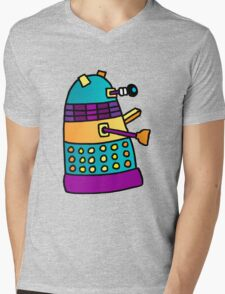Dalek 01 Mens V-Neck T-Shirt