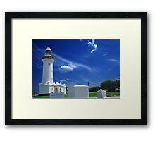 Norah Head Light House Framed Print