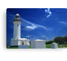 Norah Head Light House Canvas Print
