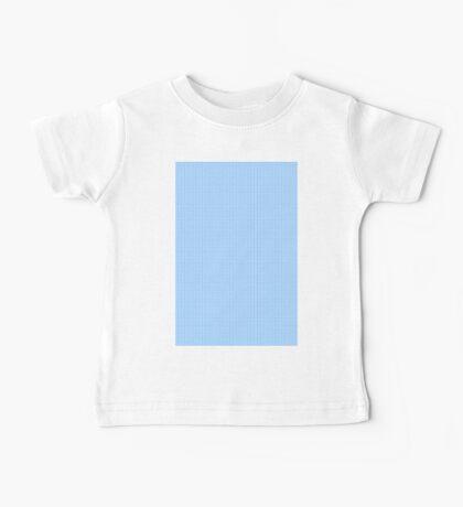 Polka Dots (blue) Baby Tee