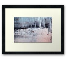 Etched Reflections Framed Print