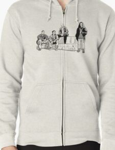The Couch Zipped Hoodie