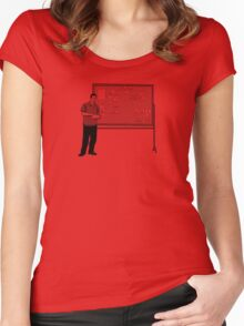 The Board Women's Fitted Scoop T-Shirt