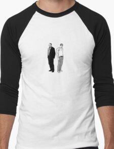 Stringer Bell and Avon Barksdale Men's Baseball ¾ T-Shirt