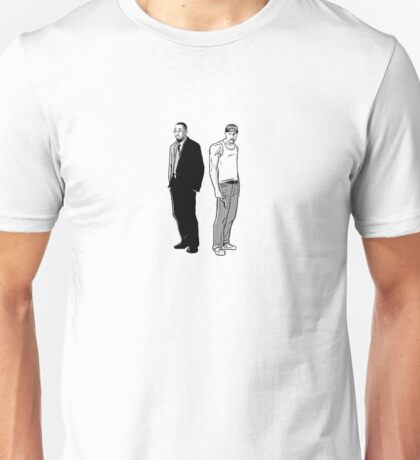Stringer Bell and Avon Barksdale Unisex T-Shirt