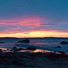 Taroona Sunrise pano 2 by Odille Esmonde-Morgan
