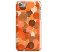 Shocked (orange) iPhone Case/Skin