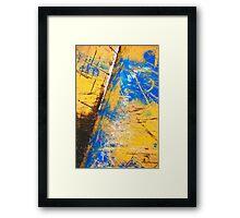 Crossing the Void Framed Print