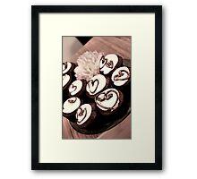 Cupcake Love Framed Print