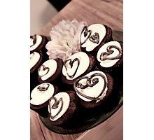 Cupcake Love Photographic Print