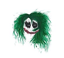 The Joker. Why so serious? Photographic Print