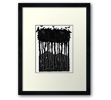 In a hole in the ground... Framed Print