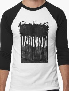 In a hole in the ground... Men's Baseball ¾ T-Shirt