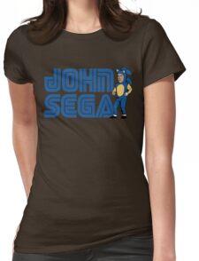 John Sega Womens Fitted T-Shirt