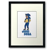 John Sega Framed Print