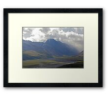 Foreboding Clouds Framed Print