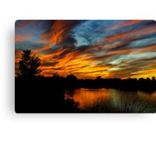 Paint the Sky  Canvas Print