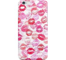 Kissing on Valentines Day iPhone Case/Skin