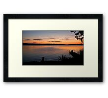 A small slice of heaven Framed Print