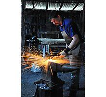 Blacksmith - Australiana Village Wilberforce NSW Australia Photographic Print