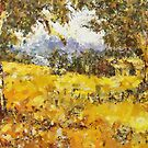 The Golden Valley by Romanovna Fine Art Prints