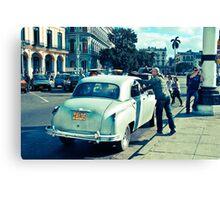 Streets Of Havana #2 Canvas Print