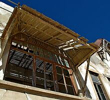 old windows by Martina  Stoecker