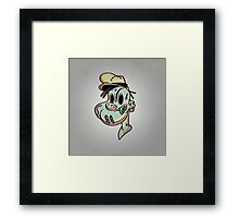 Brains and Spinach Framed Print
